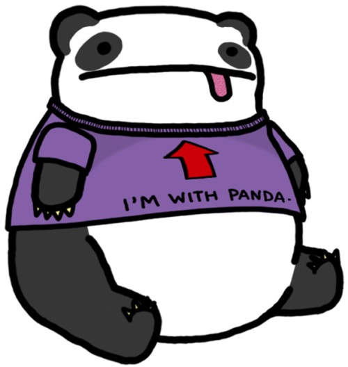 He IS with Panda...